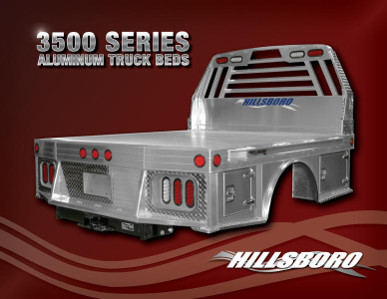 3500 Series Aluminum Truck Beds