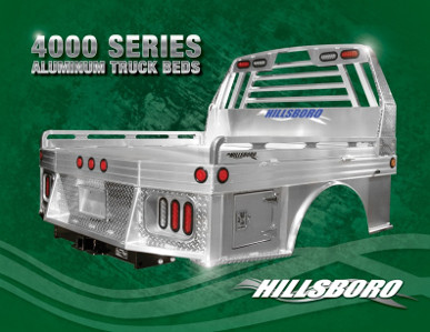 4000 Series Aluminum Truck Beds