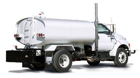 KWT Water Truck Ford F750 Rear