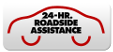 24-Hr. Roadside Assistance Logo